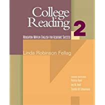 College Reading Book 2 (274 pp) (Houghton Mifflin English for Academic Success)