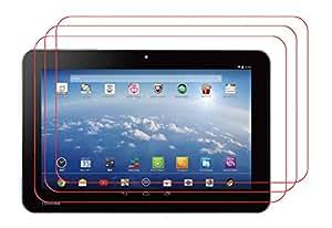 【3枚パック】【RISEオリジナル】東芝 Toshiba Android (TM) タブレット A204YB Yahoo! BB 液晶保護フィルム 超光沢  透き通る美しさが特徴の超光沢液晶保護フィルム