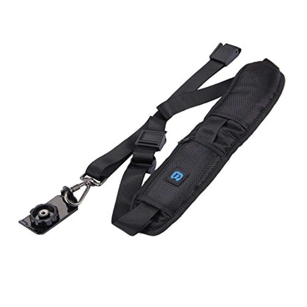 有効な卒業わずかにKMLP クイックリリースSLR/DSLRカメラ用メタルフック付きアンチスリップソフトパッドナイロンシングルショルダーカメラストラップ