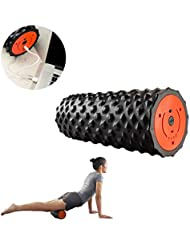 フォームローラー 電気適性のマッサージャーは運動後の筋肉深いティッシュの制動機ポイントの処置のために再充電可能です