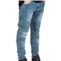 (アルファーフープ) α-HOOP メンズファッション パンツ カジュアル ストリート バイカージーンズ デニム ジーパン 大きい サイズ も S ~ XXL DME6