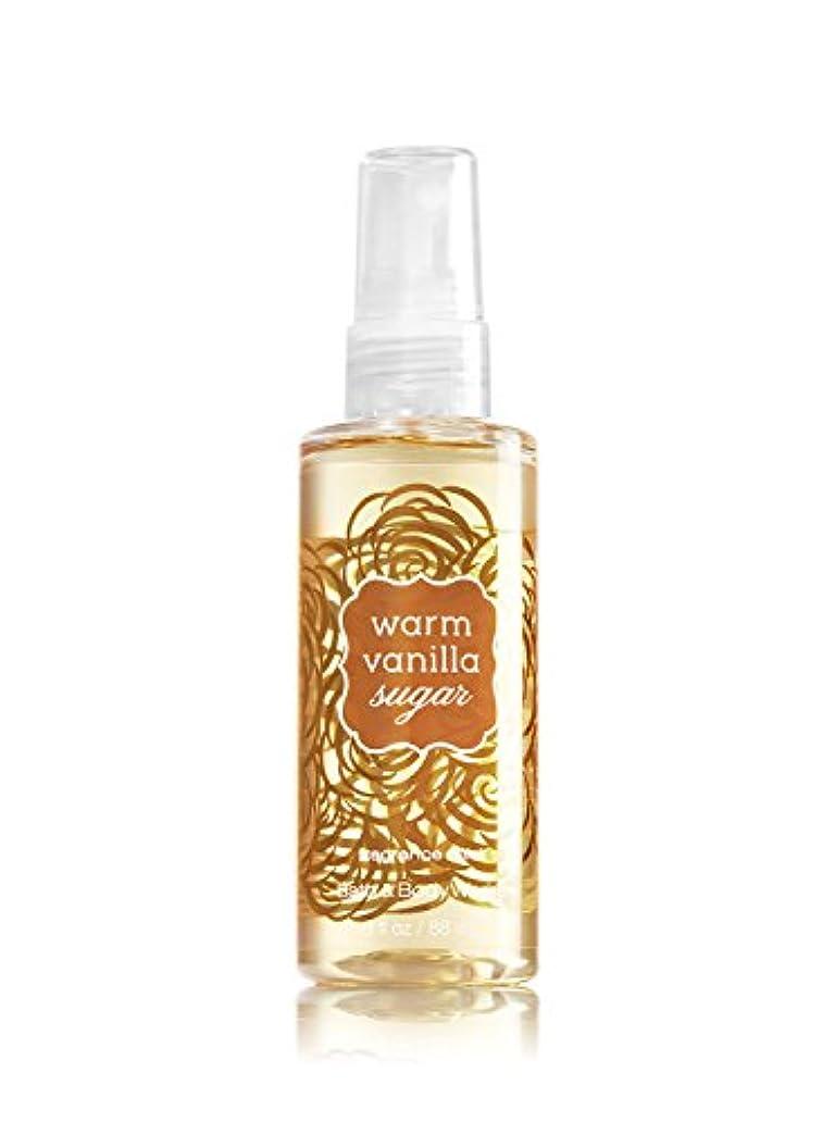 探偵泥沼分析するバス&ボディワークス ウォームバニラシュガー ファイン フレグランスミスト トラベルサイズ Warm Vanilla Sugar Fine Fragrance Mist Travel-Size[並行輸入品]