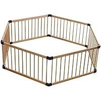 安全フェンス、室内の子供の遊びのフェンス赤ちゃんのクローリング幼児のフェンスの赤ちゃんのホームソリッドウッドの安全フェンス (サイズ さいず : 180cm)