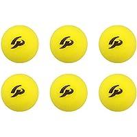 GP (ジーピー) 野球 バッティング トレーニング ボール スポンジ 黄色 42mm 【12個入り/6個入り】