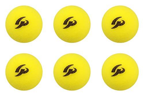 (ジーピー) GP (ジーピー) 野球バッティングトレーニングボール スポンジ素材 黄色 42mm 6個入り 34143