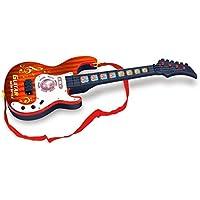 YIFAN ミニギター 楽器 演奏おもちゃ 弦楽器 音楽玩具 子供用 4弦 初心者モデル 知育玩具 初心者入門 学生 男の子 褐色 909A