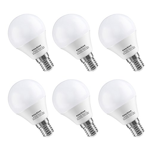 LED 電球 E17口金 600LM 白熱電球 60W形相当(6W) 電球色3000K 密閉器具対応 広配光タイプ 省エネ90% 6個入