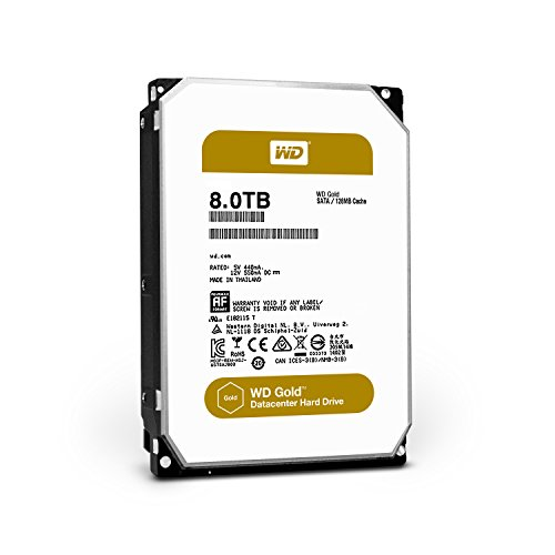 WD 3.5inc Gold 8TB キャッシュ 64MB SATA6Gb/s 7200rpm WD8002FRYZ