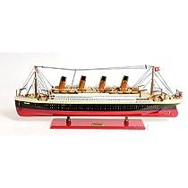 旧現代工芸C012タイタニックは、Lモデルのボート塗装済み完成品