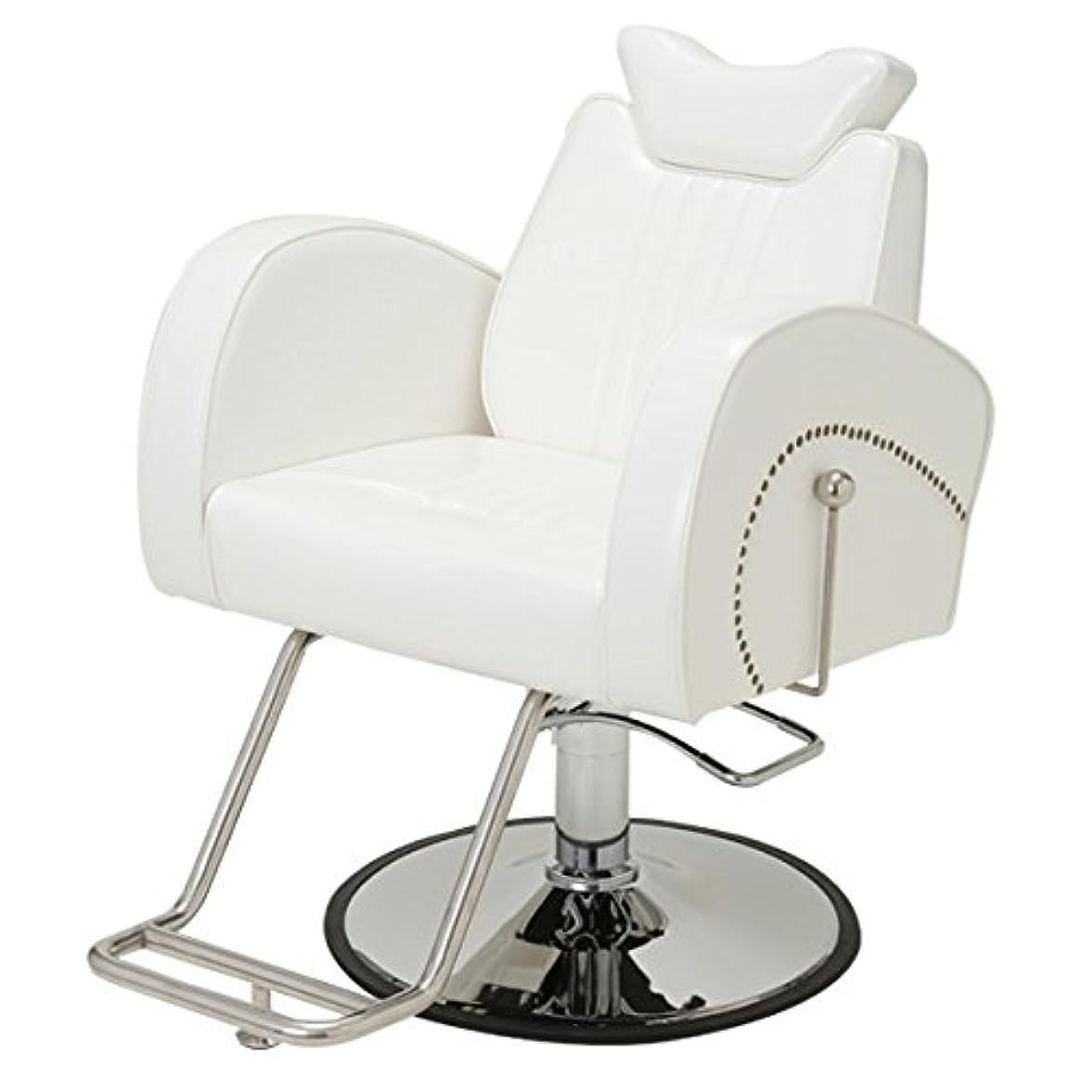 ラッドヤードキップリング大佐国歌手動マクラ付き マルチチェア Cozy 802 ホワイト [ スタイリングチェア シャンプー椅子 チェア 椅子 イス セットチェア セット椅子 セットイス カットチェア カット椅子 カットイス 美容室椅子 美容室 美容師 ]