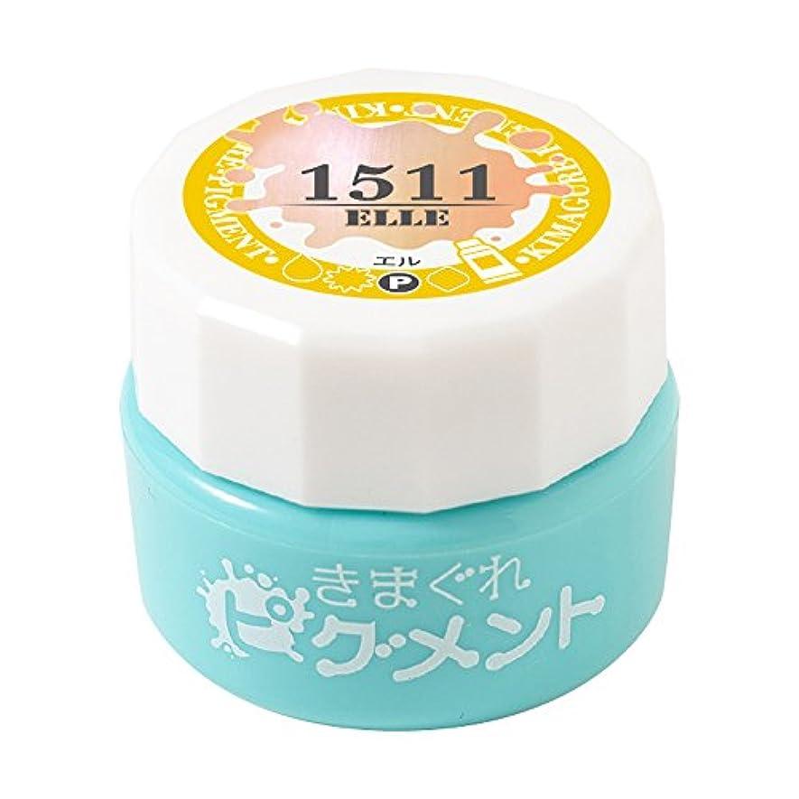 豆抵抗力がある幼児Bettygel きまぐれピグメント エル QYJ-1511 4g UV/LED対応