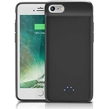 fa823fb95a Dozzi iPhone6/6S/7/8兼用 iphone7バッテリー内蔵ケース 5000mAh 充電ケース ケース型バッテリー 大容量 240%  バッテリー容量追加-4.7インチ用