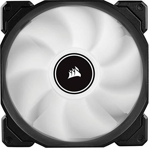 Corsair AF140 LED (2018) White 62 CFM 140 mm Fans 2-Pack
