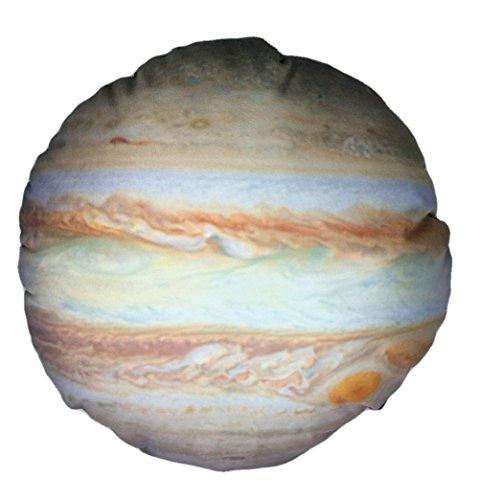 (コズミックツリー) COSMIC TREE コンプリートしたくなる 惑星 クッション 太陽系 地球 月 丸型 (30cm, 木星)