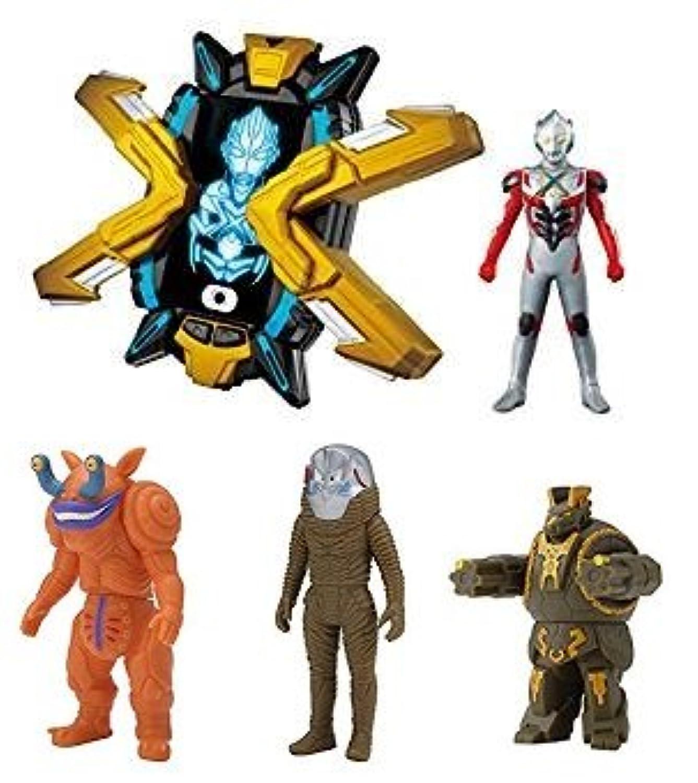 ウルトラマンX(エックス) DXエクスデバイザー&スパークドールズ【ウルトラマンX、ファントン星人、ザラブ星人、ルディアン】4体セット