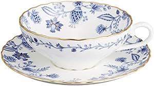 Noritake(ノリタケ) ボーンチャイナ ブルーソレンティーノ ティー碗皿 (1客) T58043A/4562