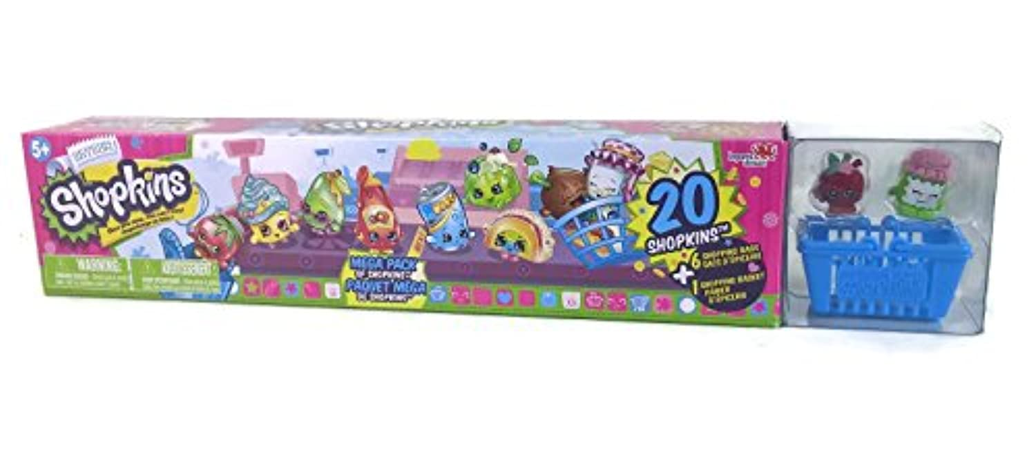 Shopkins Season 1 Mega Pack - 20 Shopkins Style #2