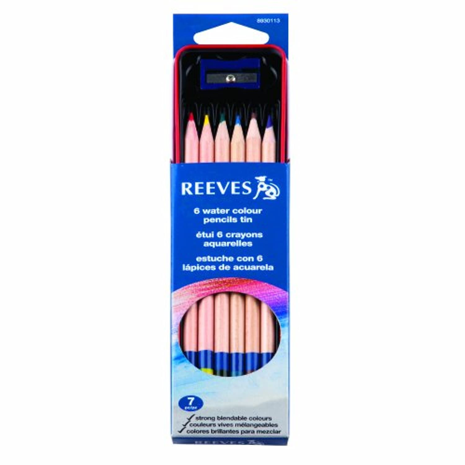 Reeves Tin Set, Water Colour Pencil by Reeves