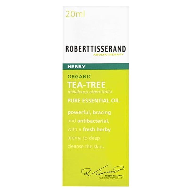 スモッグ好き蒸し器ロバートティスランド 英国土壌協会認証 オーガニック ティーツリー(ティートリー) 20ml