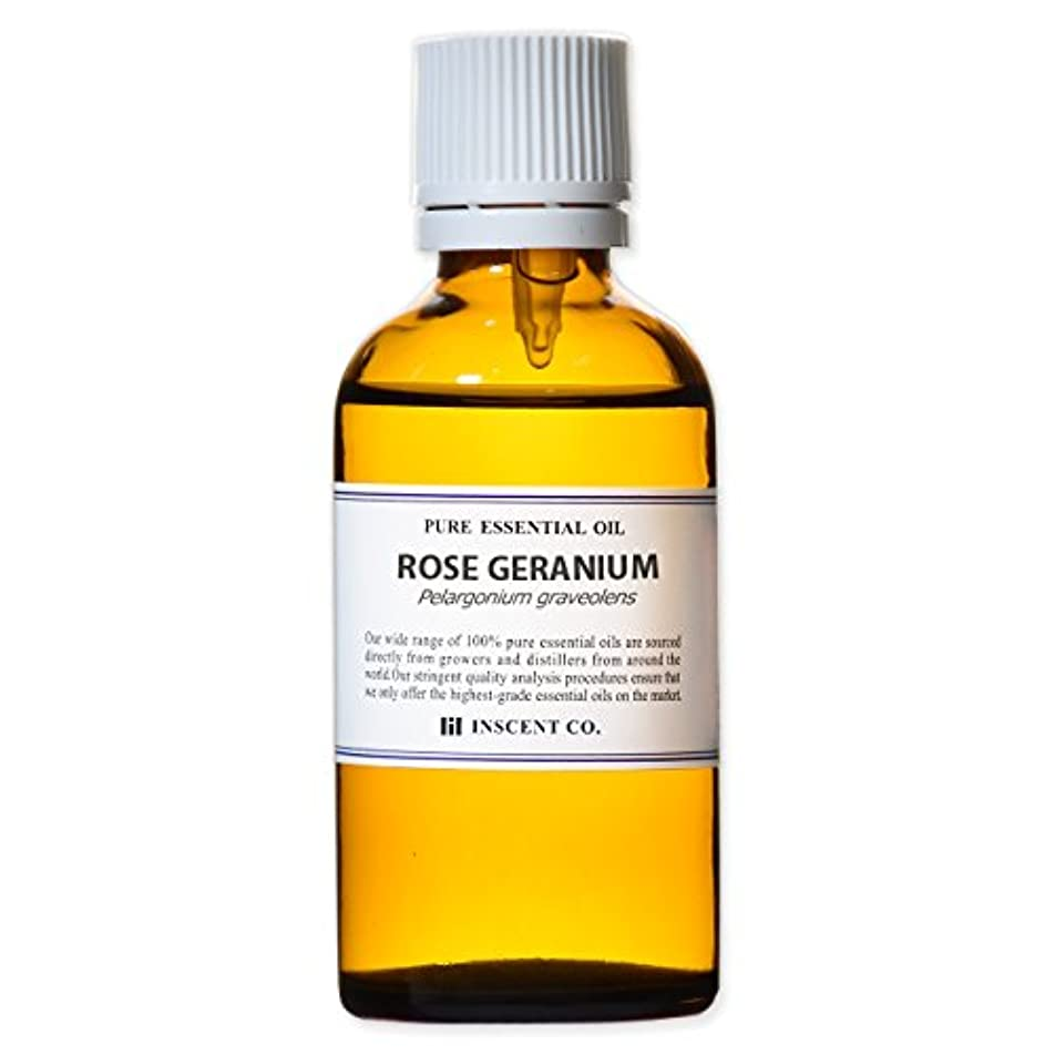 額内部マンモスローズゼラニウム 50ml インセント アロマオイル AEAJ 表示基準適合認定精油
