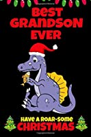 Best Grandson Ever: Cute Christmas Gifts for Boys 5-7 Year Old, Dinosaur Lovers Gift Ideas, Small Journal to Write In (Alternative to Card)