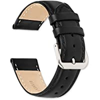 deBeer Stage Coach Leather Watch Strap/Watch Band - Choice of Color & Width - 10, 12, 14, 15, 16, 17, 18, 19, or 20mm