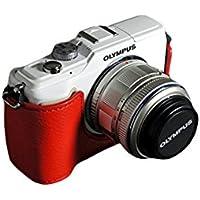 TP OLYMPUS オリンパス E-PL2 (EPL2)用本革カメラケース 各種カラー