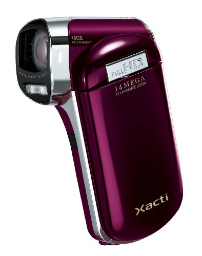 SANYO デジタルムービーカメラ Xacti CG110 レッド DMX-CG110(R)