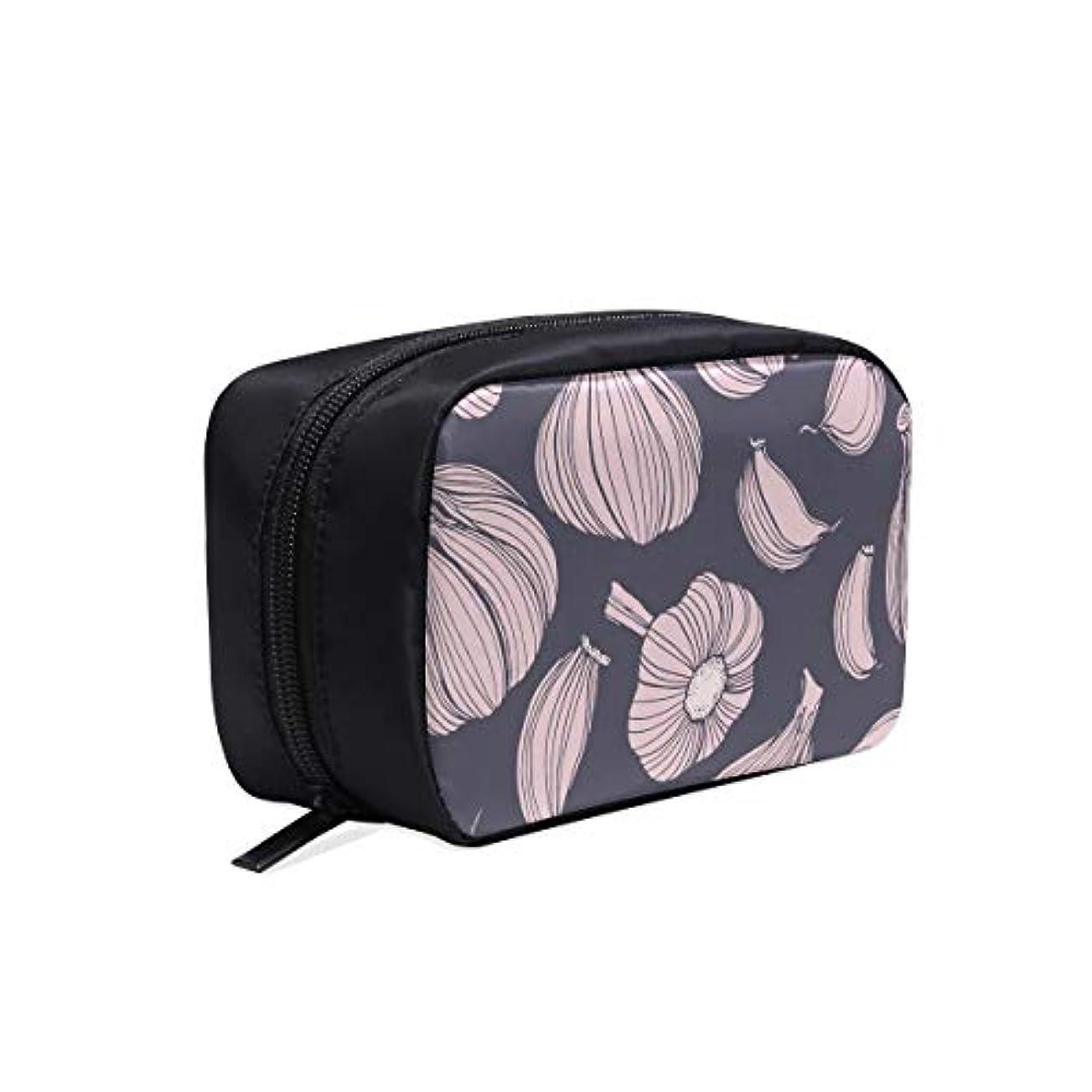 フィールド虫スイCKYHYC メイクポーチ にんにく ボックス コスメ収納 化粧品収納ケース 大容量 収納 化粧品入れ 化粧バッグ 旅行用 メイクブラシバッグ 化粧箱 持ち運び便利 プロ用