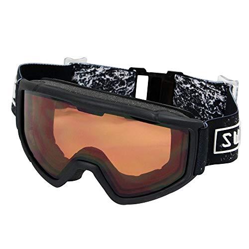 SWANS(スワンズ) ジュニア(キッズ・子供) スキー スノーボード ゴーグル 16-17 モデル : ブラック (140DH)