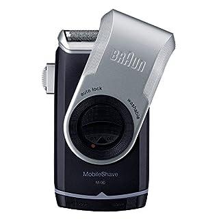 ブラウン モバイル髭剃り 携帯用メンズシェーバー  M-90 丸ごと水洗い可