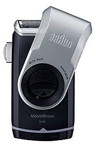 ブラウン メンズシェーバー モバイルシェーブ M-90 携帯用 1枚刃 お風呂剃り可