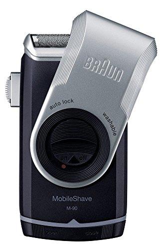 ブラウン モバイル髭剃り 携帯用メンズシェーバー  M-90...