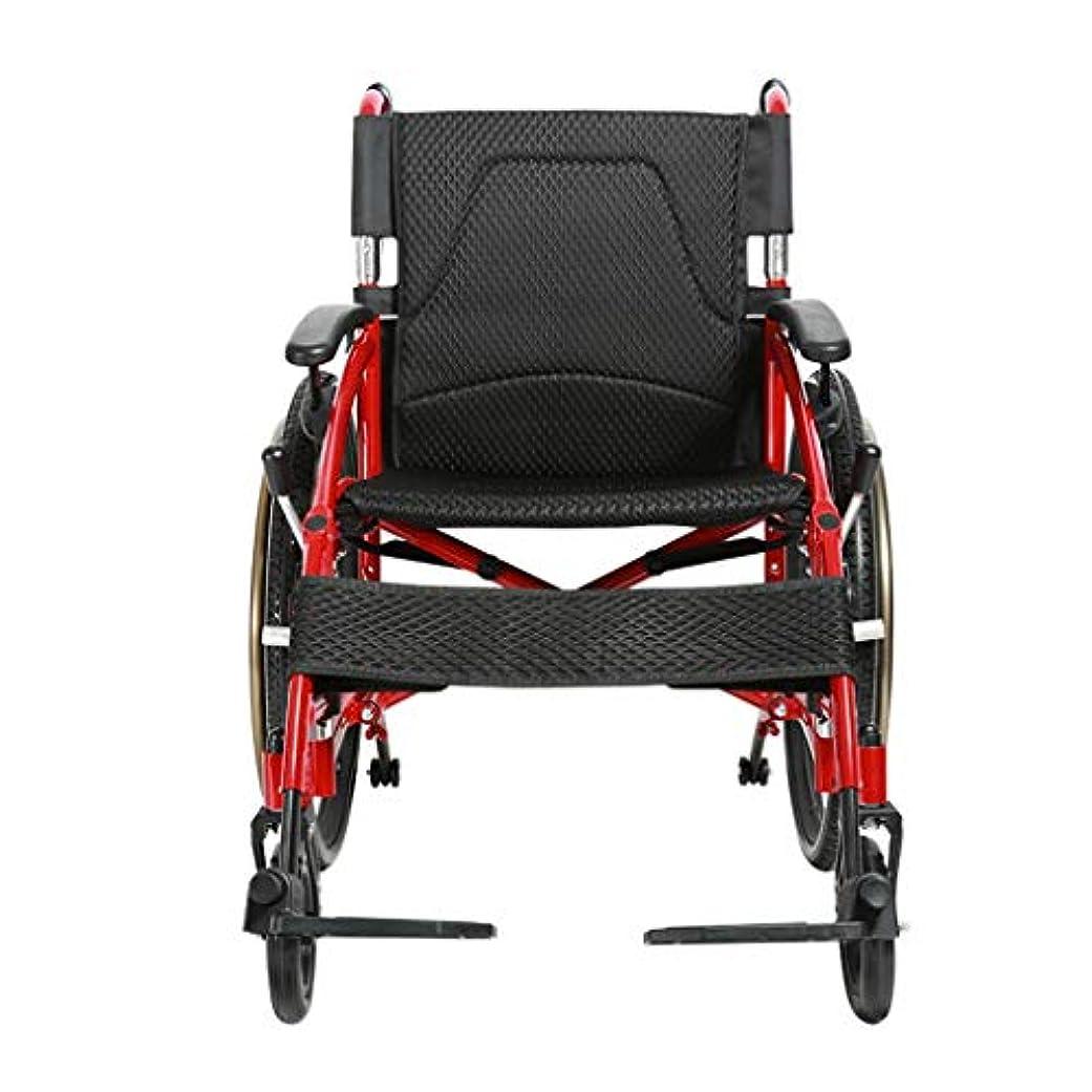 人形手入れ三番手押し式車椅子、折りたたみ式、手回し式プッシュ式歩行装置、大人および身体障害者用アルミニウム製トラベルスクーターに適しています