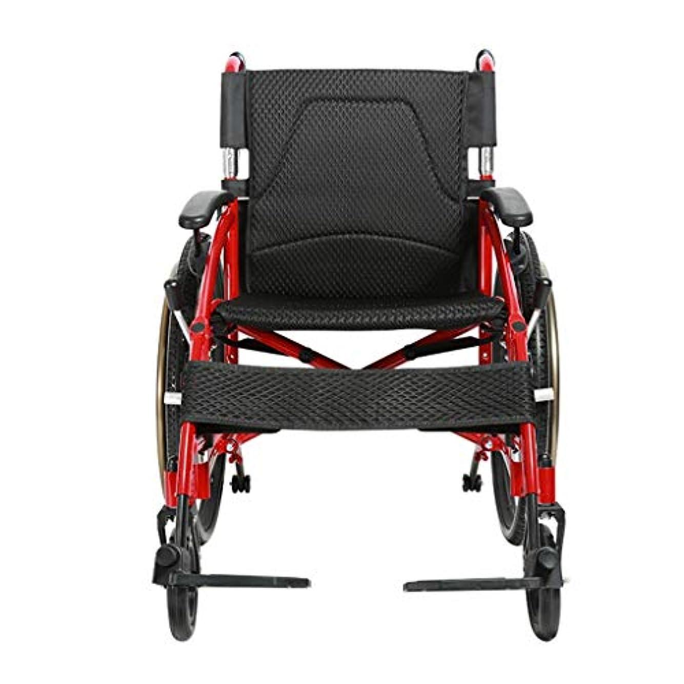 ボール照らす乳白色車椅子折りたたみ超軽量アルミニウム合金、高齢者向け車椅子、多目的トロリー