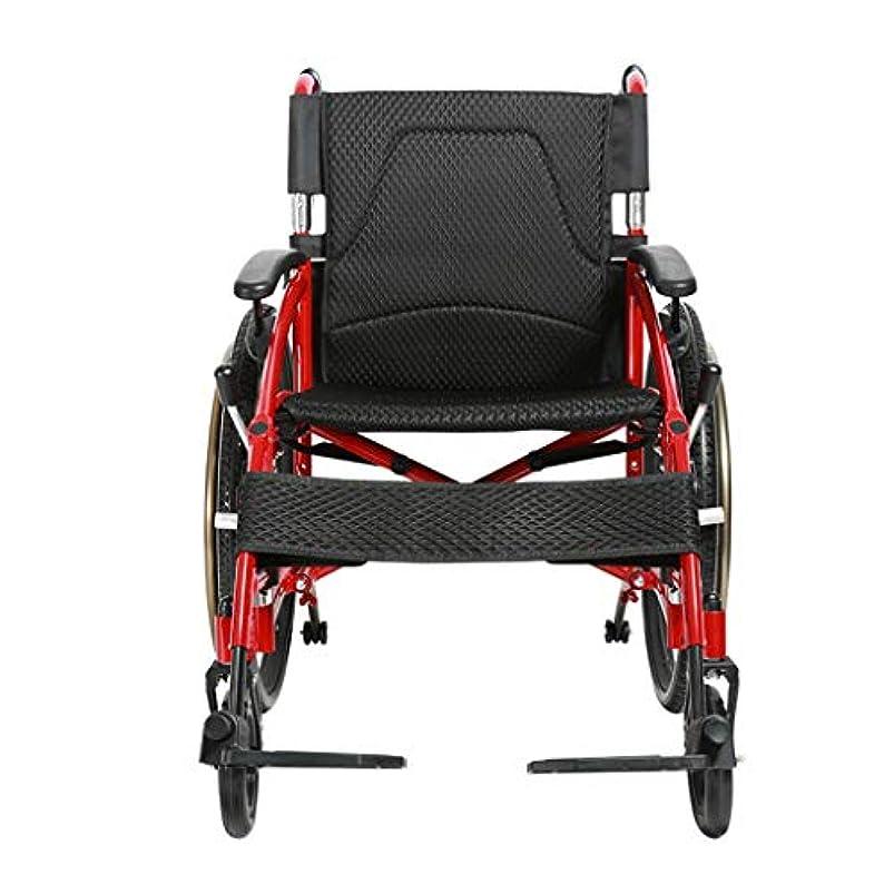 エスカレート心理的早熟手押し式車椅子、折りたたみ式、手回し式プッシュ式歩行装置、大人および身体障害者用アルミニウム製トラベルスクーターに適しています