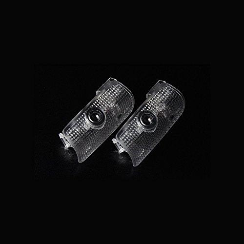 NISSAN 日産 カーテシ LEDレーザーロゴライト ドアレーザーライト カーテシライト 配線不要 純正交換タイプ