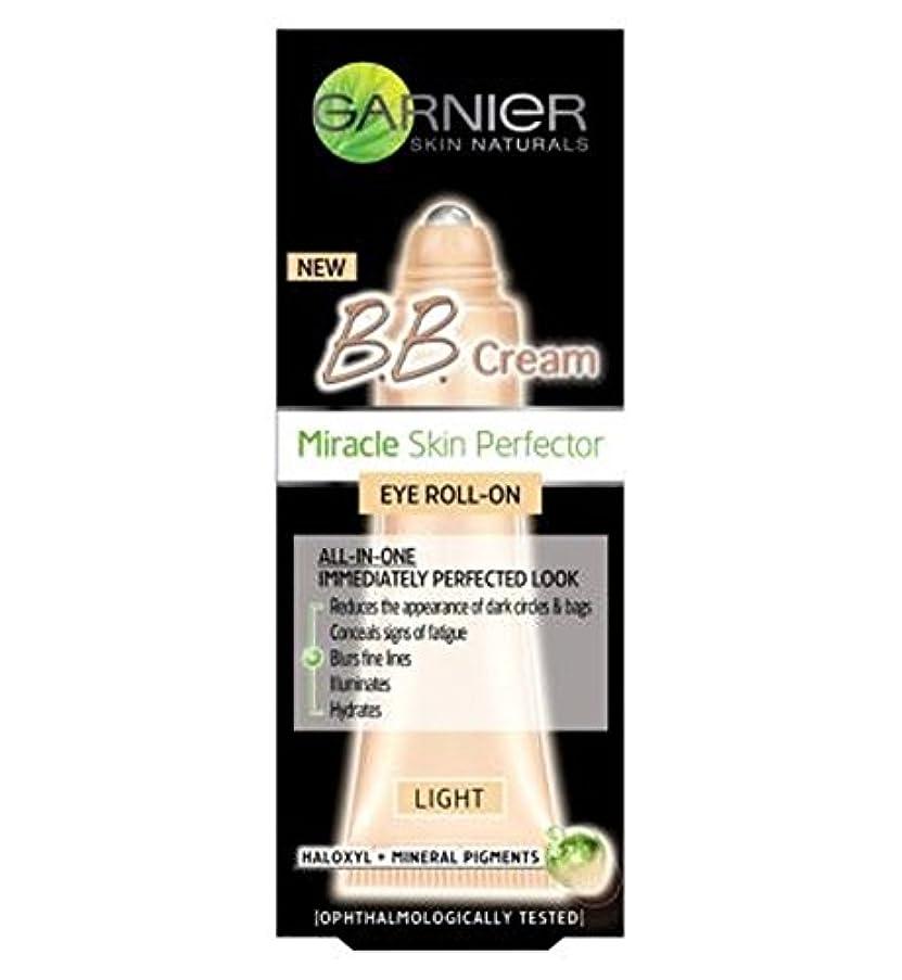 キャプテンブライ滑りやすいマントガルニエ皮膚ナチュラルBbクリームスキンパーフェクアイロールオン光7ミリリットル (Garnier) (x2) - Garnier Skin Naturals BB Cream Skin Perfector Eye Roll-On...