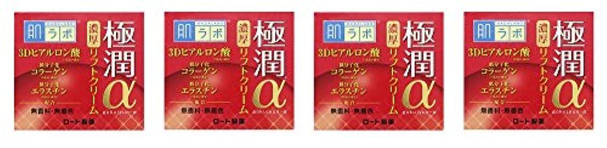 礼拝休暇他に【まとめ買い】肌ラボ 極潤α リフトクリーム 50g×4個