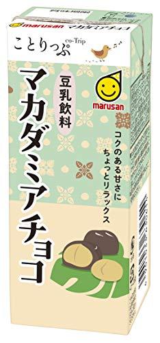 マルサン ことりっぷ豆乳飲料マカダミアチョコ 200ml ×24本