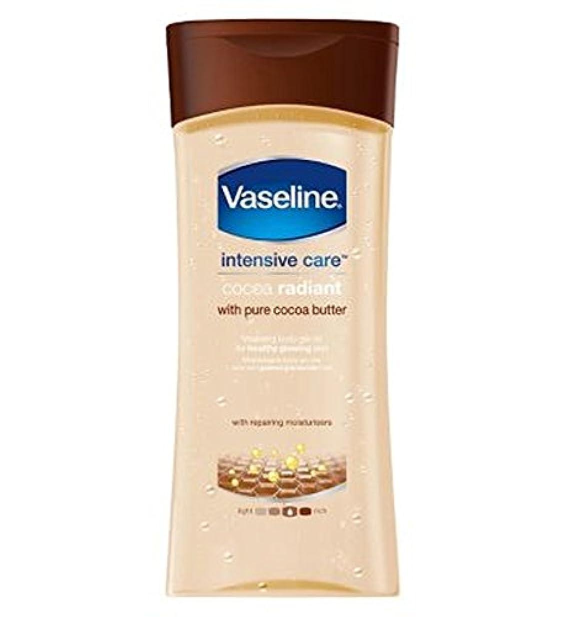 レキシコン後方にこだわりワセリン集中治療ココアゲルオイル200ミリリットル (Vaseline) (x2) - Vaseline Intensive Care Cocoa Gel Oil 200ml (Pack of 2) [並行輸入品]