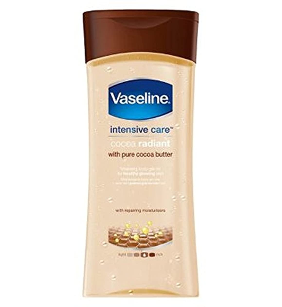 エール植生避けられないワセリン集中治療ココアゲルオイル200ミリリットル (Vaseline) (x2) - Vaseline Intensive Care Cocoa Gel Oil 200ml (Pack of 2) [並行輸入品]