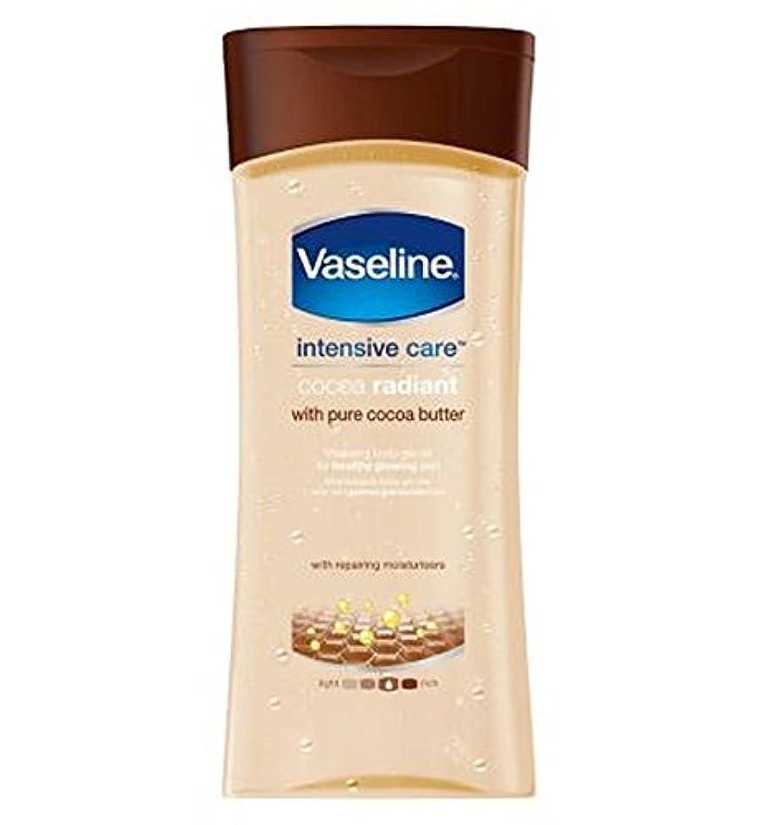 ひねり韓国音楽家ワセリン集中治療ココアゲルオイル200ミリリットル (Vaseline) (x2) - Vaseline Intensive Care Cocoa Gel Oil 200ml (Pack of 2) [並行輸入品]
