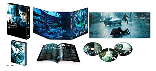 【Amazon.co.jp限定】ミュージアム ブルーレイ&DVDセット プレミアム・エディション(3枚組) (オリジナル特典映像DVD DISC付) [Blu-ray]