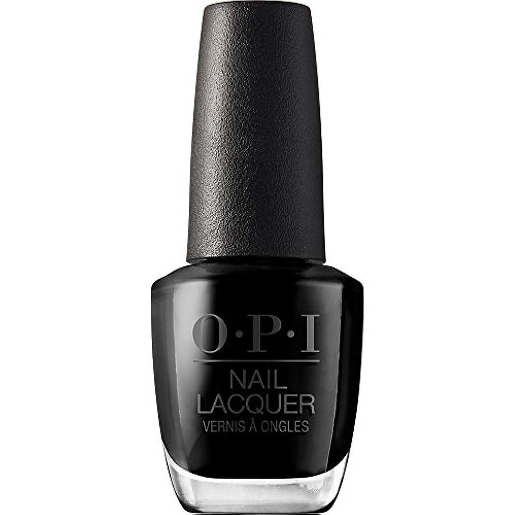 単調なコンパニオン失敗OPI(オーピーアイ) NLT02 ブラック オニキス