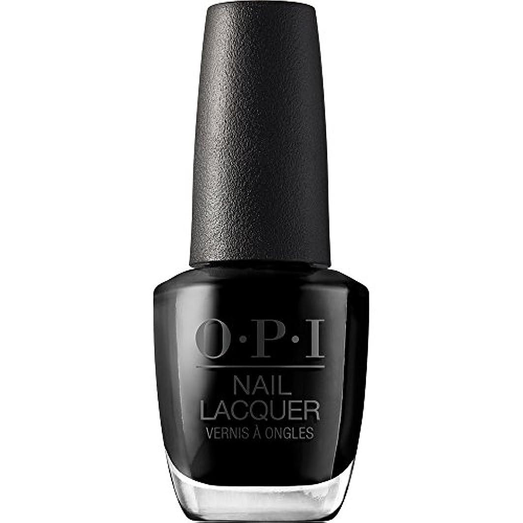体操選手肺炎破壊的OPI(オーピーアイ) NLT02 ブラック オニキス
