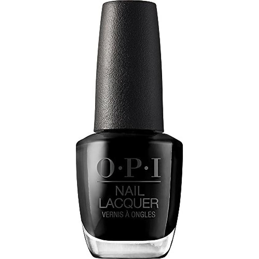肝遮る挨拶OPI(オーピーアイ) NLT02 ブラック オニキス