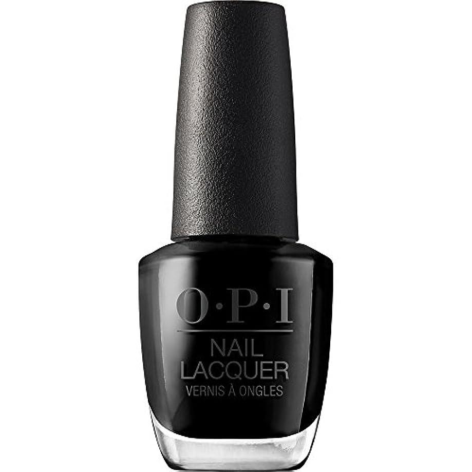 地震憤る気づかないOPI(オーピーアイ) NLT02 ブラック オニキス