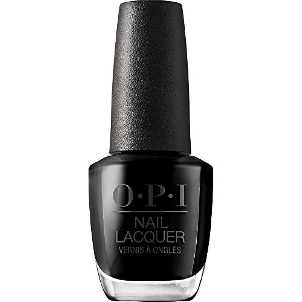 水曜日先例合併OPI(オーピーアイ) NLT02 ブラック オニキス