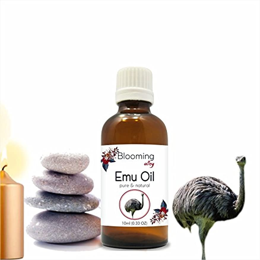 鼓舞する穿孔する補充Emu Oil 10 ml or 0.33 Fl Oz by Blooming Alley